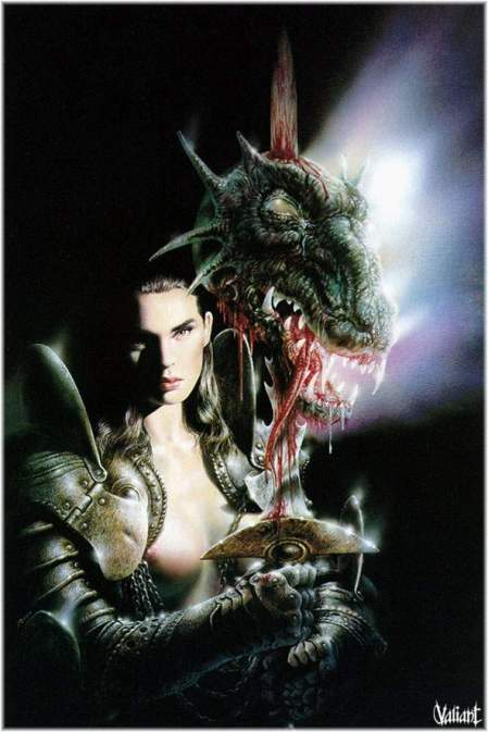 Woman Warrior (Luis Royo)