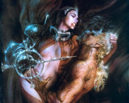 Under The Black Wind (Luis Royo)