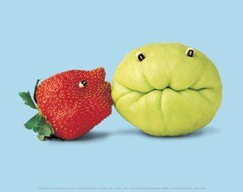 Besos de fresa
