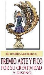 Premio Arte y Pico, por su Creatividad y Diseño